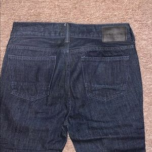 PacSun Jeans - Dark Blue PacSun Skinny Motto Stacked Jeans 29x30